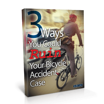 3 Ways You Could Ruin Your Bicycle Accident Case - Nunez Law