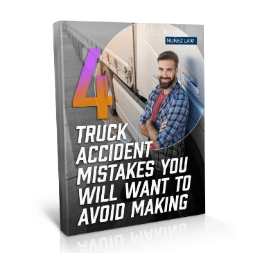 4 Truck Accident Mistakes You Will Want to Avoid Making - Nunez Law