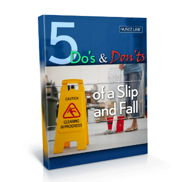 5 Dos and Donts of a Slip and Fall - Nunez Law